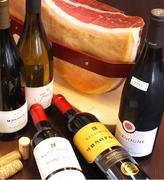 料理によく合うワインも豊富に揃えています!