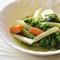 野菜と生ハムの旨みがしみじみと広がる『メネストラ』