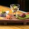 肉や魚、野菜をバランスよくあしらった『前菜盛り合わせ』