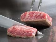 当店のハンバーグは「段戸山高原牛」100%使用、オリジナルのレシピでとてもジューシーに仕上げています