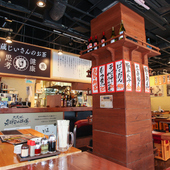 レトロな昭和の雰囲気が漂う店内で、朝までOK