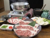 豚肉も牛肉も食べたい方におすすめ『アグー&黒毛和牛 しゃぶしゃぶset』