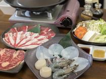 可能な限り、料理には沖縄県産の食材を使用