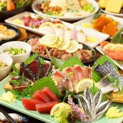 「宮崎名物チキン南蛮」や「熊本名物辛子れんこん」など九州名物の食材を使ったお料理が堪能できるコース!