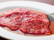 選び抜かれた上質なお肉をたっぷり堪能できる『上ロース』