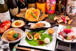 3500円~10000円のコース料理ごご用意できます 内容は季節によって変わります。