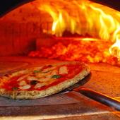 本場の味を再現、イタリアナポリの薪窯で焼いたピッツァ