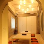 5名より利用可、大人気の完全予約制のデザイナーズ個室