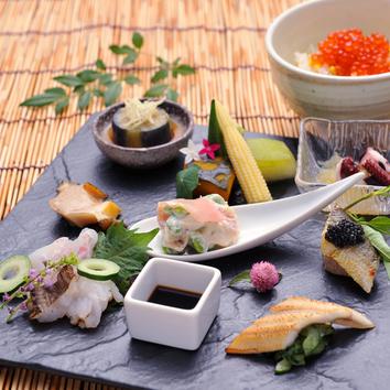 国産牛、季節のお魚や焼野菜など全7品!★国産牛フィレ ディナー