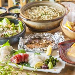 2時間飲み放題付き!天菜自慢の鶏天や創作和食をリーズナブルに堪能できる宴会コースです。