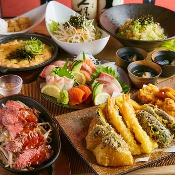 ■天菜-Amana-■【2時間飲み放題付き9品3980円】