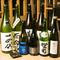 厳選した地酒や大阪地ビール『箕面ビール』も揃い、焼酎ワインも