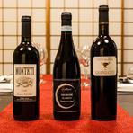 上品ながらしっかりとした旨みを兼ね備えた松阪牛や、『寿き焼』の割り下との相性を考え、ワインはボトルとグラスで7種をセレクト。松阪牛の美味しさに寄り添う日本酒も粒揃いです。