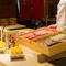 柔らかい食感と香ばしい風味が楽しい『穴子』