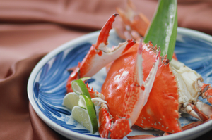 濃厚な味わいが特徴の『渡り蟹』