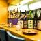 日本酒は、和食に合う各地の銘酒をセレクト