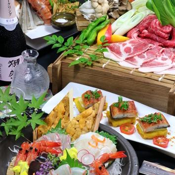 【当日OK】『天使の季節美味コース』120分飲放付4000円(税別)