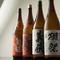 料理との調和を考え、厳選された日本酒の数々
