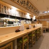 季節を感じる旬の日本酒と本格料理で大人のデートを