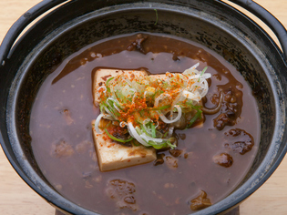 名古屋の赤味噌を使った定番料理『牛どて豆腐』