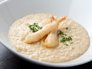 お米の食感が楽しい『ズワイガニのグリーンカレーリゾット』