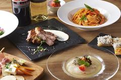 鎌倉野菜・三崎マグロ・鎌倉しらすと「かまくらハウス」を堪能できる一番人気のコース!!