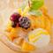 マンゴーの濃厚な味わいが美味『台湾風かき氷 マンゴーマンゴー』
