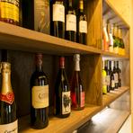 上質なワインに酔いしれる。酒肴との相乗効果でずっと続く幸福感
