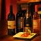 料理との相性を考慮し、イタリアワイン専門店から厳選仕入れ