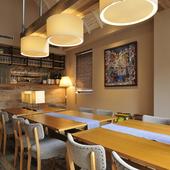 トータルで五感に訴える、豊かな食のひとときを堪能できる空間
