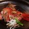 脂ののった旨みがたまらない『金目鯛のかぶと煮』