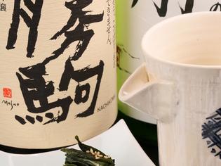 お客様との対話の中から、お料理に合う日本酒を厳選
