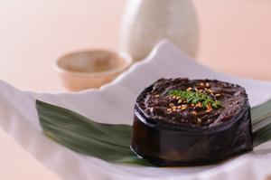 京都の赤味噌「京桜みそ」を使用した『米茄子田楽』