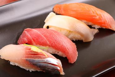 大将おまかせ。その日の良質な魚介を堪能できる『握り鮨』