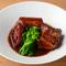 柔らかい食感が楽しめる『豚の赤ワイン煮』
