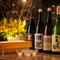 料理の味わいを引き立てる洗練された日本酒も多彩