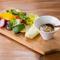朝採れ野菜の温野菜 バーニャカウダーソース