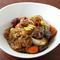 春雨を辛子と一緒に醤油ベースのタレで煮込んだ『安東チムタ』