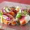 サーモンと鎌倉野菜の菜園風 レグリーズ鎌倉のガーデン仕立て
