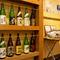定期的に入れ変わる日本酒も好評
