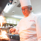 有名レストランやホテルで修業を重ねた料理長がつくる極上の逸品