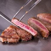 高品質な肉質の特選和牛を堪能