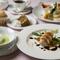 ラグジュアリーな空間で堪能する本格フランス料理