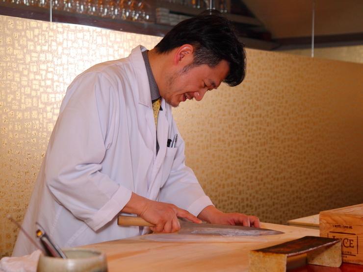 常に新しい日本料理を目指して、ここならではの味を生み出す