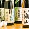 全国各地より選りすぐりの日本酒・焼酎をご用意!