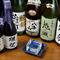地元の人気の地酒「鬼城」も入荷。貴重な日本酒を楽しんで