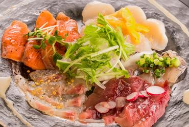 特製鮮魚のカルパッチョ