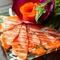 フレッシュな真鯛の旨みを味わう『新鮮鯛のカルパッチョ』