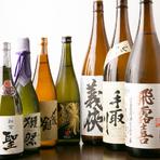 すっきりした口当たりから味のしっかりした日本酒まで充実のラインナップ。季節に応じてさまざまなお酒が仕入れられています。お勧めは旨みが凝縮された愛知の『義侠』。三重の『瀧自慢』もあります。