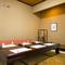 接待や会食など改まった席にも重宝する、お座敷個室